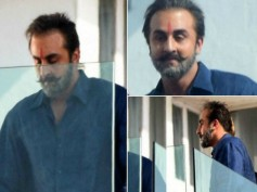 UNBELIEVABLE! Ranbir Kapoor Looks CARBON COPY Of Sanjay Dutt In His Latest Pics; Spotted On The Sets