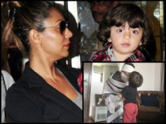 RARE SIGHT! AbRam Kisses Mommy Gauri Khan & Their Picture Will Wipe Out Your Monday Blues!