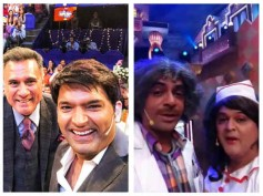 Kapil Sharma Shoots With Boman Irani, While Sunil Grover Shoots With Ali Asgar For Sony!