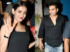 Arbaaz Khan Doesn't Care About Malaika Arora! Parties Hard With Birthday Girl Sonal Chauhan
