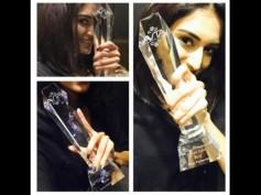 Finally Kuch Rang Pyar Ke Aise Bhi's Erica Fernandes Gets Her 'AVTA Actress Of The Year 2016' Trophy