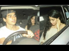 Rumoured Lovebirds Ishaan Khattar & Jhanvi Kapoor On A Movie Date Again; This Time It's Baywatch!