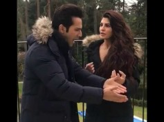 OMG! Varun Dhawan Loses His Temper At Jacqueline Fernandez On The Sets Of Judwaa 2 [VIDEO]