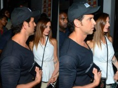 Hrithik Roshan & Sussanne Khan Spotted At A Dinner Date! View Pictures