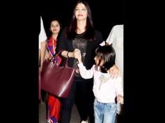 What Happened To Abhishek Bachchan's Surprise? Aishwarya Rai Spotted Leaving Mumbai With Aaradhya