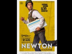 Newton First Poster: Rajkummar Rao Is On The Run With An EVM Machine And We Are Quite CONFUSED!