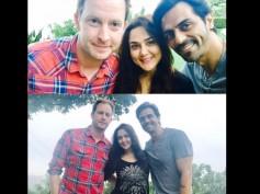 Pic Talk: Arjun Rampal Bumps Into Preity Zinta & Her Hubby Gene Goodenough