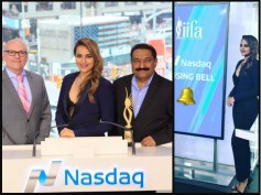IIFA 2017: Sonakshi Sinha Rings Nasdaq Bell In New York