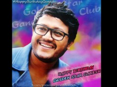 Golden Star Ganesh Celebrated His Birthday With Fans At His Residence