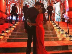 PASSIONATE LOVE! A Red HOT Lisa Haydon Shares A Lip-Lock With Her Hubby Dino Lalvani