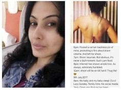 Kamya Punjabi Gives Back To The Hacker Who Deleted Her Backless Picture!