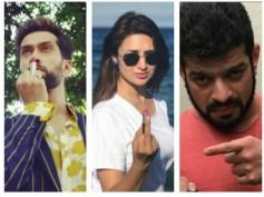 After Mouni Roy, Divyanka Tripathi, Nakuul Mehta, Karan Patel & Others Join The Lipstick Rebellion!