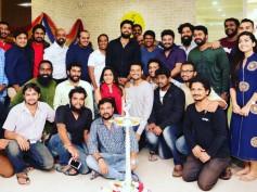 Power Star Puneeth Rajkumar Inaugurates Rakshit Shetty's New Office, Paramvah Studios!