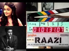 LIGHTS, CAMERA & ACTION! Vicky Kaushal- Alia Bhatt's Raazi Goes On Floors