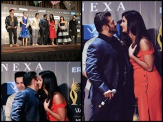 IIFA 2017 PICTURES: Salman Khan KISSES Katrina Kaif, Their ROMANTIC One-Liners Have Everyone Hooting