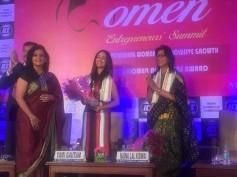 Women Entrepreneurs Summit Felicitate Yami Gautam For Her Achievements!