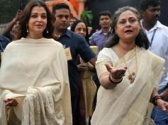 AWKWARD! Did Aishwarya Rai Bachchan Get EMBARRASSED When Jaya Bachchan SHOUTED At The Media For Her?