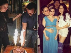 WOW! Kareena Kapoor Shares A Lovely Bond With Soha & Sara; See INSIDE PICTURES From Saif's Birthday
