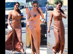 Priyanka Chopra Slips Into A Satin Gown & Looks Spectacular & Grand! View Pictures