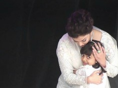 ALL LOVE! Abhishek Bachchan REACTS To Aishwarya Rai Bachchan's Picture Of HUGGING Aaradhya On Stage!