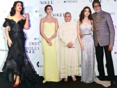 HOTTEST LOOK EVER! Aishwarya Rai Bachchan & Navya Naveli Nanda GRAB EYEBALLS At Vogue Beauty Awards!