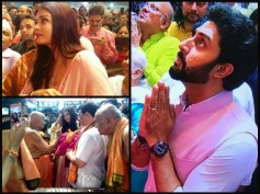 SPOTTED SEPARATELY! Why Aishwarya Rai Bachchan Was NOT Accompanied By Abhishek For Ganapati Darshan?