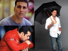 Shahrukh Khan Shows He's The BOSS!  Beats Salman Khan & Akshay Kumar By A Thin Margin! Read Details