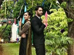 Kuch Rang Pyar Ke Aise Bhi's Shaheer Sheikh & Erica Fernandes Enjoy Each Other's Company On The Sets