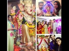 Here's How Divyanka Tripathi, Hina Khan, Devoleena & Other TV Celebs Welcomed Lord Ganesha…