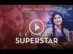 Aamir Khan's Secret Superstar Trailer is Out & Shows Plight Of Indian Musicians! View Here