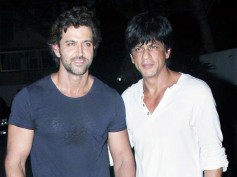 NO MORE FIGHT! Shahrukh Khan & Hrithik Roshan Are Back To Being FRIENDS! Here's How It Happened..