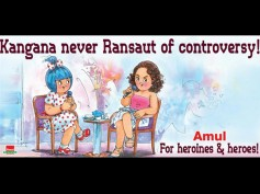 Amul Makes An Interesting Concept out Of Kangana Ranaut's Controversies! View Here