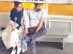 CAUGHT RED-HANDED! Rumoured Lovers Sunny Deol & Dimpla Kapadia Spotted HOLDING HANDS In London