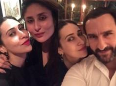 Kareena Kapoor, Saif Ali Khan & Karisma Kapoor Have A Dinner Date! View Pictures