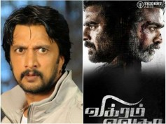 JUST IN! Will Sudeep Act In Vikram Vedha Remake?