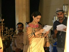 Unaffected By Hrithik Roshan! Kangana Ranaut Shoots For Manikarnika, Spotted On The Sets [Pictures]
