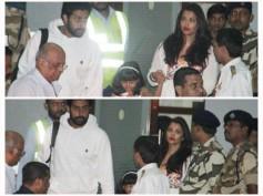 SEE PIC! Aaradhya TWINS With Aishwarya Rai Bachchan & Abhishek Bachchan As She Returns From Maldives