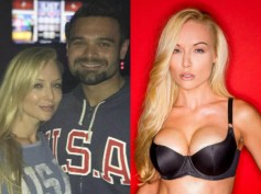 Adult Star Moment! Mithun Chakraborty's Son Mahaakshay Meets Pornstar Kayden Kross In Los Angeles!