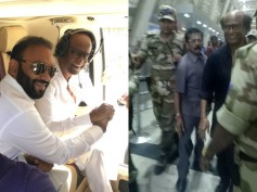 Pictures! Superstar Rajinikanth Heads To Dubai For 2.0 Audio Launch!