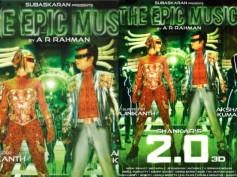 2.0 Poster! Rajinikanth & Amy Jackson Lock Eyes! Are They Enemies Or Romancing?