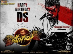 Happy Birthday DHRUVA SARJA! Take A Look At The First Look Poster Of Pogaru!