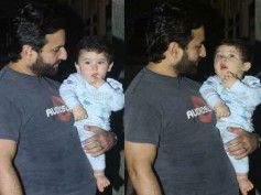 IN BEBO'S ABSENCE! Saif Ali Khan: Taimur Was Alone With Me & He Was Looking A Little Sad