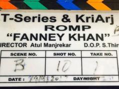 Rajkummar Rao Starts Shooting For Fanney Khan
