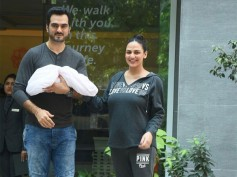 Esha Deol & Bharat Takhtani With Their Little Baby Girl! View Pics