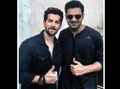 DON'T MISS! Prabhas Spotted On The Sets Of Saaho As He Shoots With Neil Nitin Mukesh [New Picture]