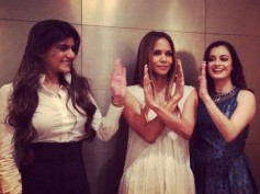 Dia Mirza Hangs Out With Hollywood Beauty Halle Berry In Mumbai!
