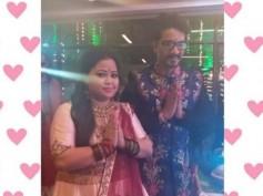 #BhartiKiBaraat: Bharti Singh & Harsh Limbachiyaa Organise Mata Ki Chowki Before Heading To Goa!