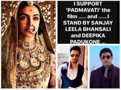 #Padmavati Controversy: Karan Patel, Aly Goni & Other TV Stars Support Sanjay Leela Bhansali's Film!