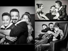 DAD'S THE WORD! These Pics Of Sanjay Dutt With His Kids Shahraan & Iqra Will Melt Your Hearts