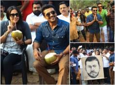 IN PICS! Suriya And Jyothika Visit The Sets Of Nivin Pauly's Kaayamkulam Kochunni!